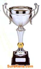 win lottery trophy