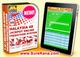 Magnum+Damacai+Toto 4D Jackpot Course, Forecast Result, Online Software